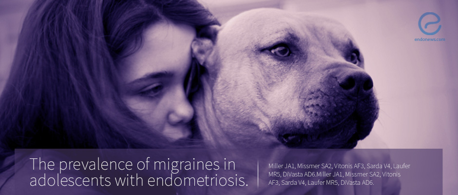 Adolescents with Endometriosis are More Susceptible to Migraines