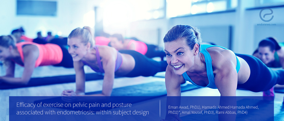 Exercise can improve pelvic pain and posture associated with endometriosis