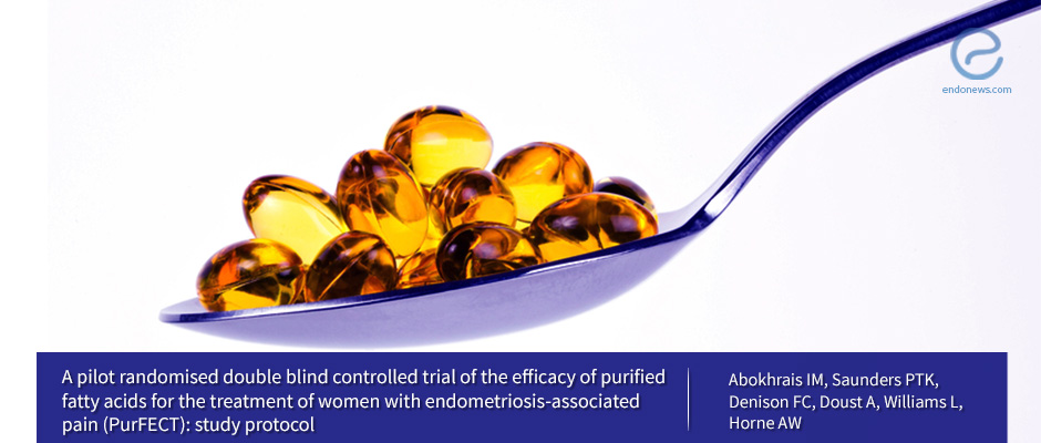 Potential Study: Can Omega-3 purified Fatty Acids Treat Endometriosis Pain?