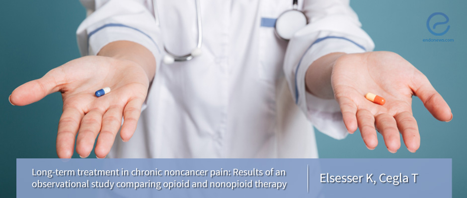 Comparing opioid and nonopioid therapy for chronic pain
