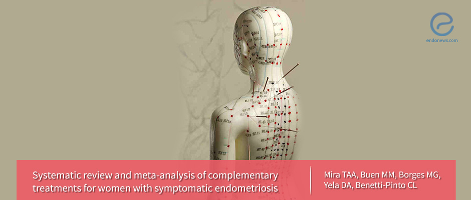Complementary treatments for endometriosis symptoms: acupuncture, exercise, electrotherapy, or yoga?