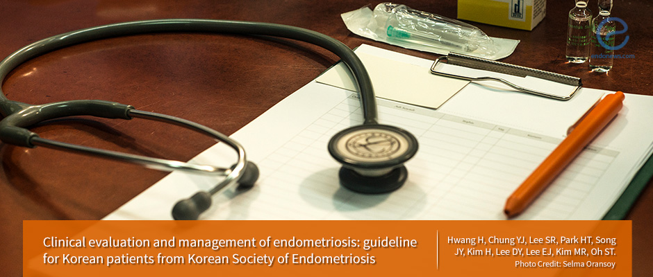 The diagnosis and management of endometriosis in Korea
