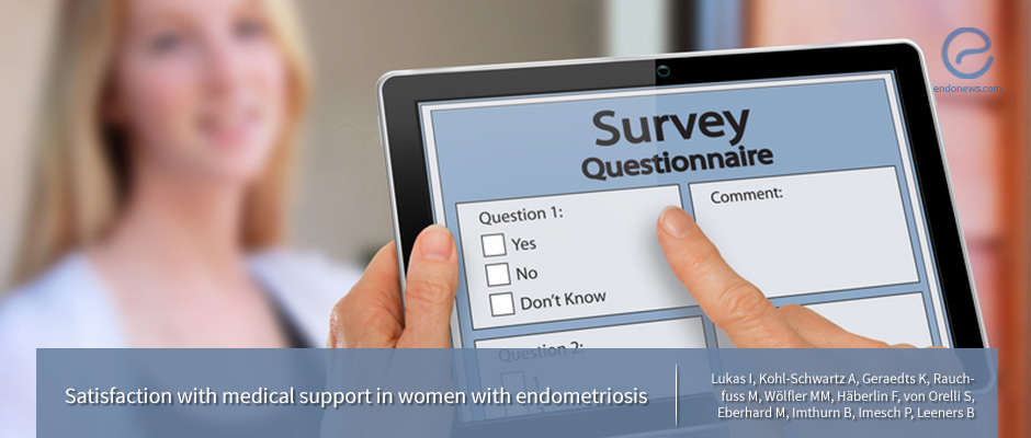 Are women with histologically confirmed endometriosis satisfied with their medical support?