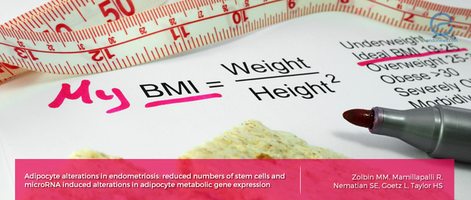 The reason for lower BMI  and less body fat in women with endometriosis.