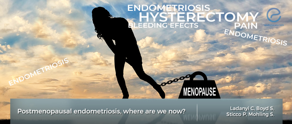 What happens to women with endometriosis after menopause?