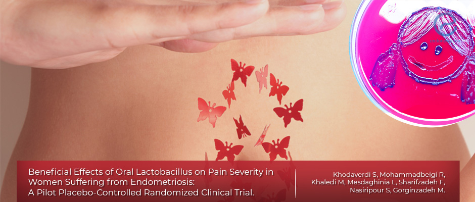 Clinical trial for the use of oral lactobacillus on endometriosis pain severity