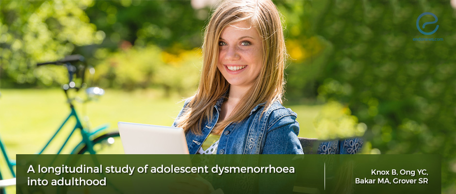 Adolescent dysmenorrhea and future endometriosis
