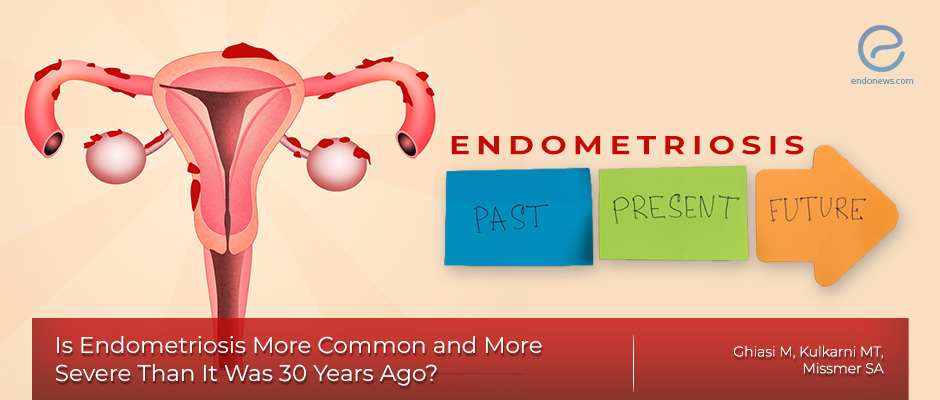 The prevalence and severity of endometriosis today