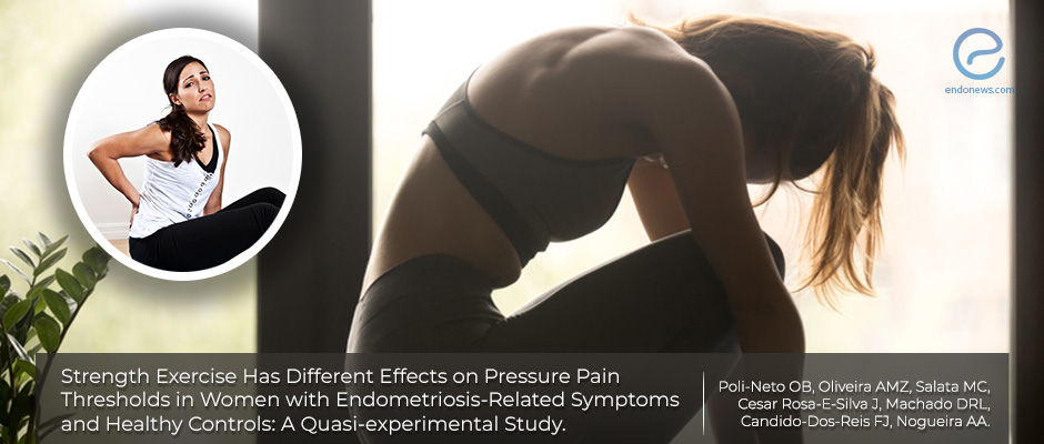 Strength exercise may not be helpful for the management of endometriosis-related pain