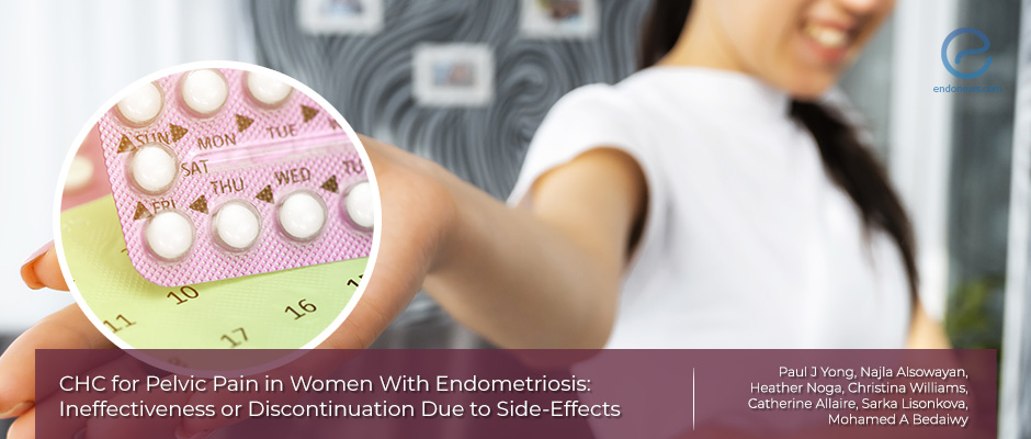 The efficacy of combined hormonal contraception on pelvic pain in endometriosis patients