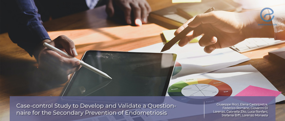 Case-control study to develop a questionnaire for early diagnosis of endometriosis
