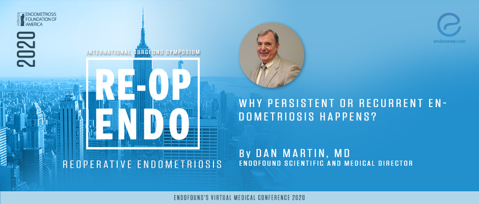 Why Persistent or Recurrent Endometriosis Happens? - Dan Martin, MD
