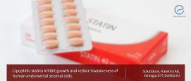 Lipophilic Statins inhibit growth and invasiveness of human endometrial cells